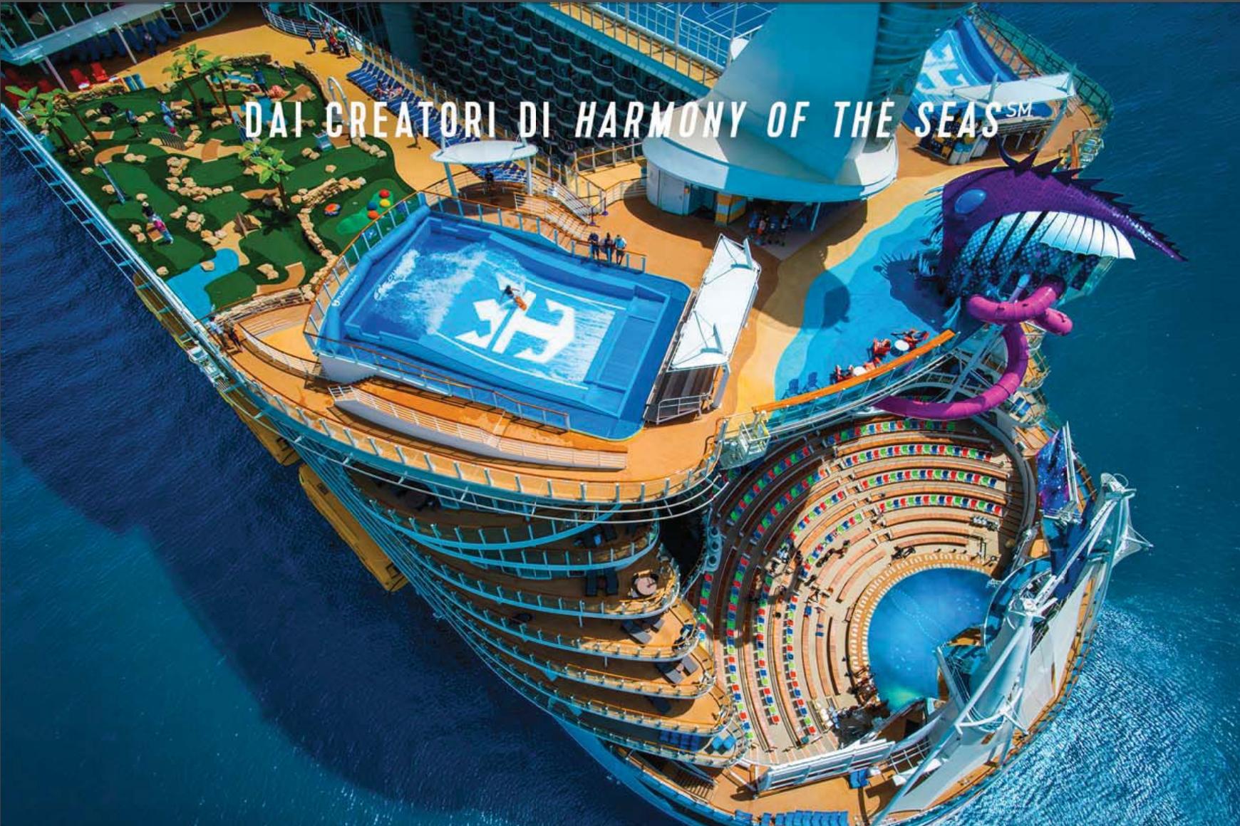 Symphony of the seas la nuova nave pi grande del mondo for Foto meravigliose del mondo
