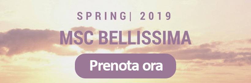 MSC Bellissima prenota su Dreamlines