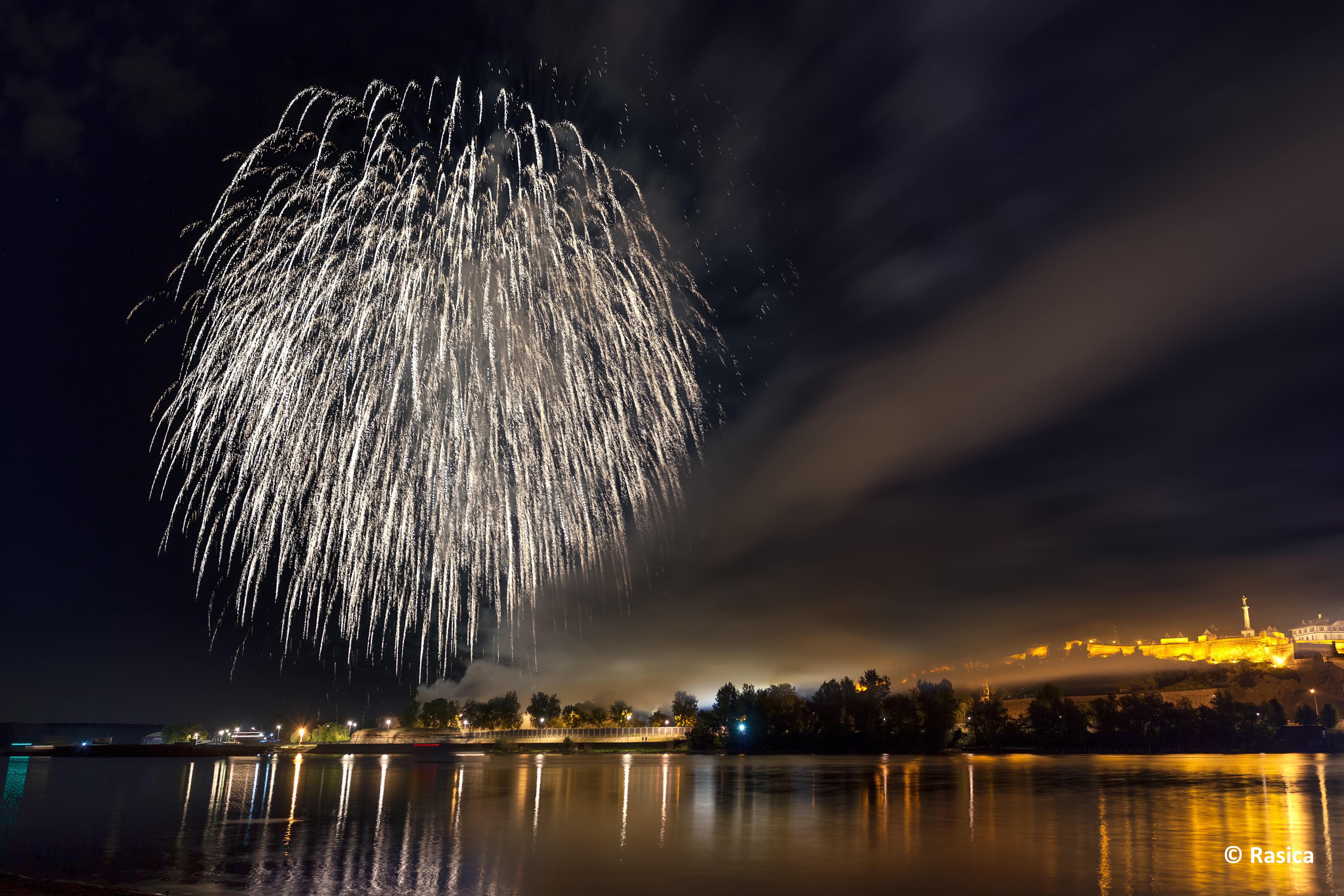 Capodanno in città Belgrado, Serbia