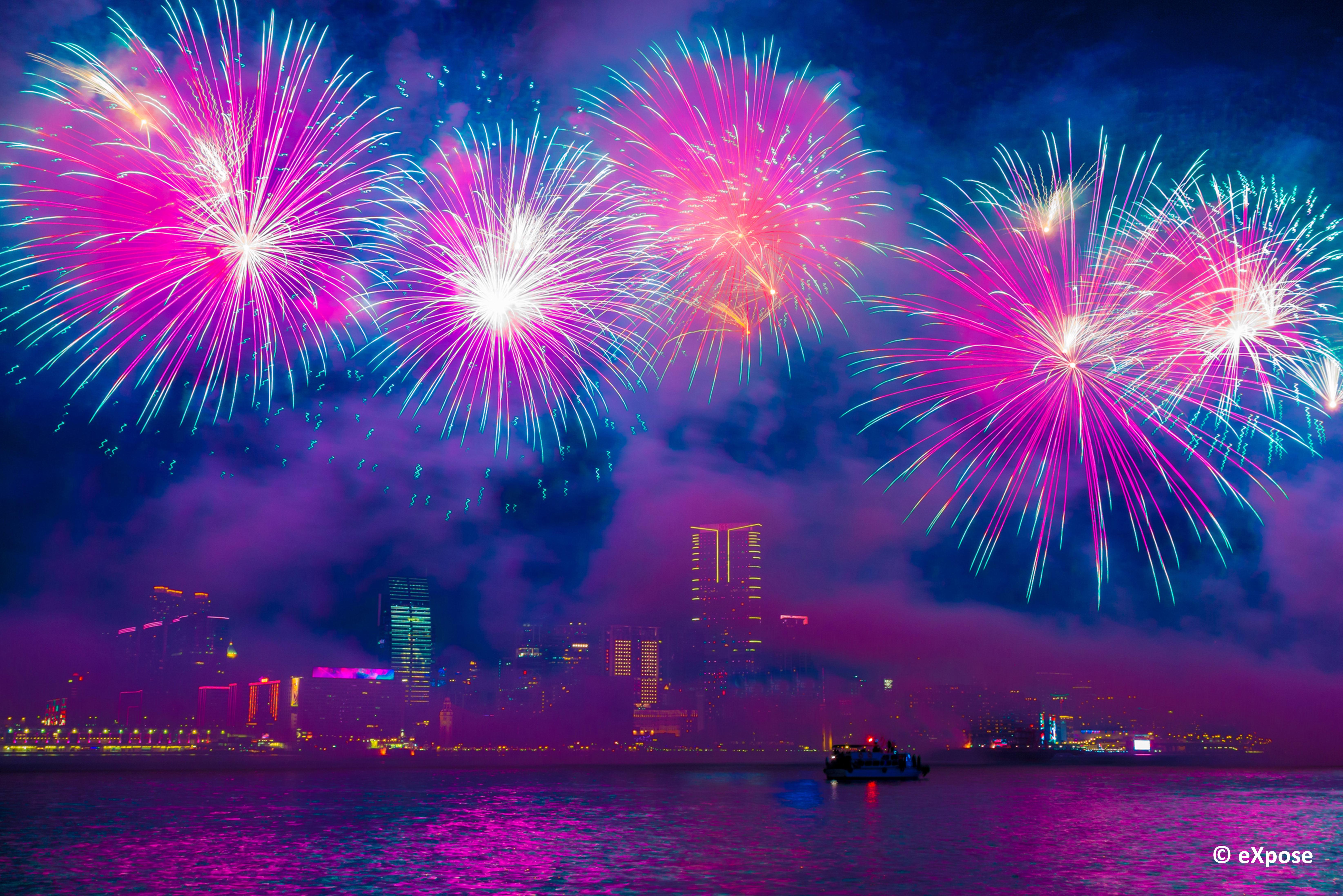Capodanno in città Hong Kong