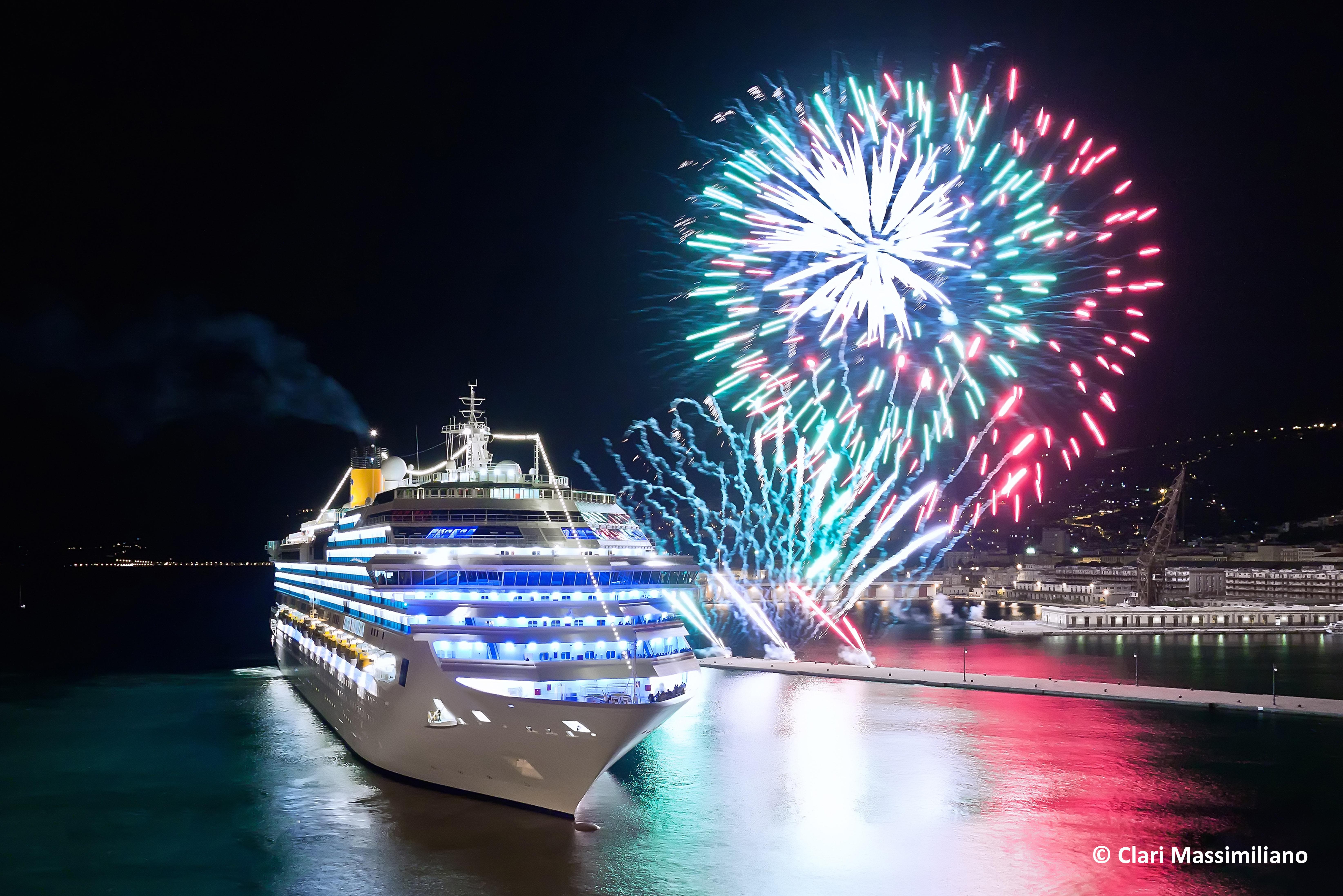 Capodanno in città Trieste, Italia