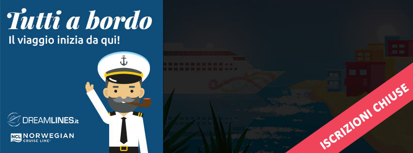 Tutti a bordo Norwegian Cruise Line